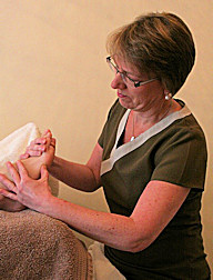 Jane reflexology